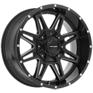 Pro Comp Wheels <br>Series 42 Blockade Gloss Black