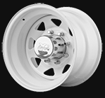 Pro Comp Wheels<br>82 White