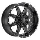 Pro Comp Wheels <br>Series 48 Quick 8 Satin Black