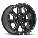 Pro Comp Wheels <br>Series 43 Sledge Satin Black