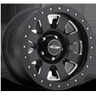 Pro Comp Wheels <br>Series 84 Vapor Pro Satin Black