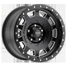 Pro Comp Wheels <br>Series 60 Hammer Satin Black Milled