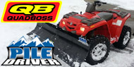 QuadBoss Pile Driver<br> ATV Plows