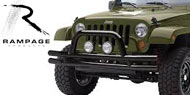 Rampage Jeep Double Tube Bumpers