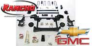 Rancho Suspension Lift Kit<br /> 2000-2006 Chevy Suburban 4WD