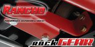 Rancho RockGEAR <br /> Transmission Skid Plate Brackets
