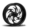 Xtreme Machine Wheels Reaper Black
