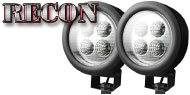 Recon LED Round Driving Light Kit