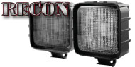 Recon 30-Watt LED Square Driving Light Kit