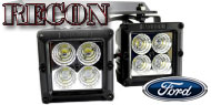 Recon Ford LED Fog Lights