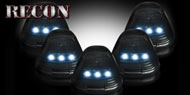 Recon LED Cab Light Kit for 99-16 Ford Superduty
