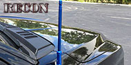 "Recon Extended Range Aluminum 12"" Shorty Antenna"