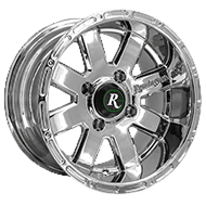 Remington Wheels<br /> 8-Point PVD Chrome Finish