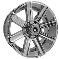 Remington Freedom PVD Chrome Finish Wheels