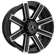 Remington Freedom Satin Black with Machined Face Wheels
