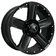 Remington Wheels<br /> High Country All Satin Black Finish