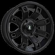 Remington ATV Wheels<br /> Hollow Point in All Satin Black Finish