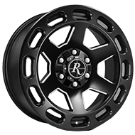 Remington Patriot All Satin Black with Milled Windows Wheels