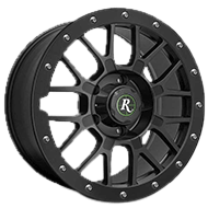 Remington Wheels<br /> RTC All Satin Black Finish