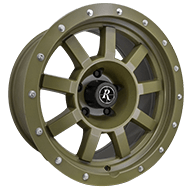 Remington Target All Satin O/D Olive Drab Finish Wheels