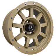 Remington Target All Tan Finish Wheels