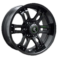 Remington Wheels<br /> Trophy All Satin Black Finish