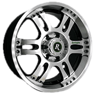 Remington Wheels<br /> Trophy All Satin Black with Machined Face Finish