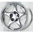 Wheel Replicas <br/>Corvette C4 ZR-1 <br/>Chrome