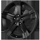 Wheel Replicas <br/>Camaro <br/>Matte Black