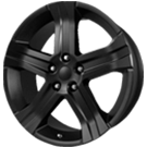 Wheel Replicas <br/>Dodge RT <br/>Matte Black