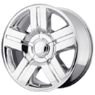 Wheel Replicas <br/>Silverado <br/>Chrome