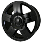 Wheel Replicas <br/>Silverado <br/>Gloss Black