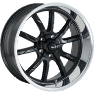 Ridler Wheels<br/> 650 Matte Black w/ Polished Lip