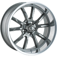 Ridler Wheels<br/> 650 Grey w/ Polished Lip