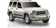 Romik Max Bars Side Steps </br>for 2008-2013 Jeep Liberty