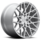 Rotiform BLQ R110 <br/> Silver Machined