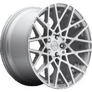 Rotiform BLQ R110 Silver Machined Wheels