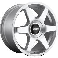 Rotiform SIX R114 Gloss Silver Wheels