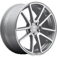 Rotiform SPF R120 Silver Machined Wheels