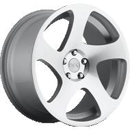 Rotiform TMB R130 Silver Machined Wheels