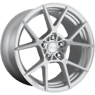 Rotiform KPS R138 Silver Brush Wheels