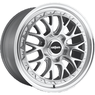 Rotiform LSR R155 Silver Machined Wheels