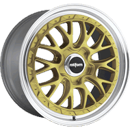 Rotiform LSR R156 Gold Machined Wheels