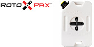 RotopaX 1-Gallon Water Pack with Pack Mount
