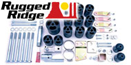 Rugged Ridge Six Speed Manual Transmission Upgrade Kit for 2005-2006 Wrangler (#18303.10+18303.20=18303.11)