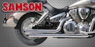 Samson Touring Bike Exhausts