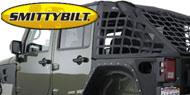 SmittyBilt Jeep Cargo Net <br />for 2007-2014 Wrangler JK Unlimited