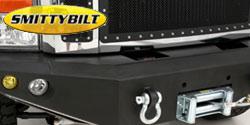 Smittybilt M1 Front Bumper <br/>Fog Lights - Amber