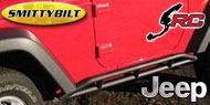 Smittybilt SRC Rocker Guards<br/> for 07-17 Jeep JK