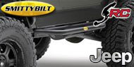 Smittybilt SRC Side Armor <br/>for 04-06 Jeep TJ Unlimited